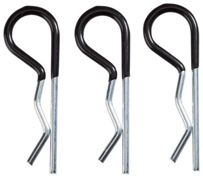 REESE Towpower Metal Hitch Pin Clips with Soft Vinyl Grips