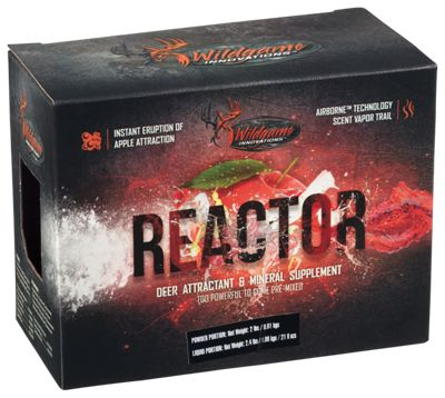 Wildgame Innovations Reactor Nutritional Supplement and Deer Attractant