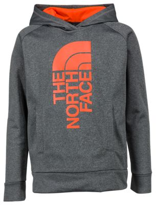 The North Face Surgent Vertical Half Dome Logo Pullover Hoodie for Boys