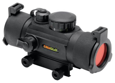 TRUGLO Dual-Color Red-Dot Sight – Black – 1x30mm
