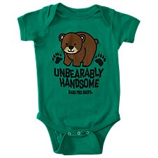 Bass Pro Shops Unbearably Handsome Bodysuit for Babies