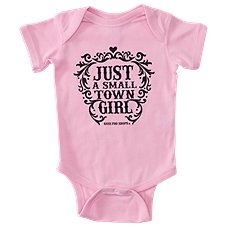 Bass Pro Shops Small Town Girl Bodysuit for Babies