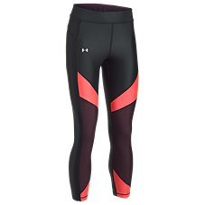 Under Armour HeatGear Color Blocked Ankle Crop Pants for Ladies