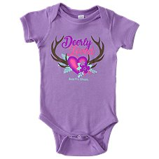 Bass Pro Shops Deerly Loved Bodysuit for Babies