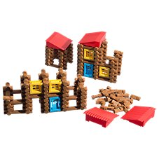 Bass Pro Shops Tumble Tree Timbers 270-Piece Building Set