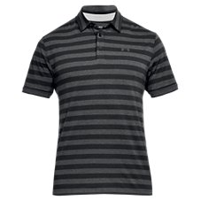 Under Armour Charged Cotton Scramble Stripe Golf Polo for Men