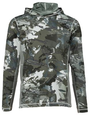 6466b2b23a1ad Under Armour Coolswitch Thermocline Hoodie for Men UA Green Hydro Camo 2XL