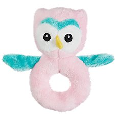 Bass Pro Shops Plush Owl Rattle for Babies