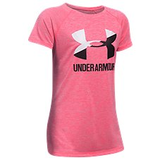 Under Armour Novelty Big Logo T-Shirt for Girls