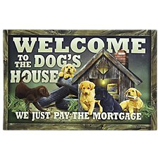 Bass Pro Shops Dog's House Welcome Mat