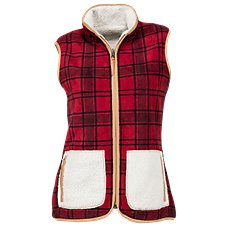 Natural Reflections Reversible Vest for Ladies