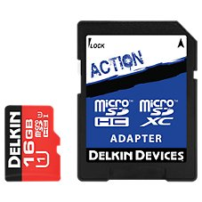 Delkin Action Hyperspeed microSD Memory Card