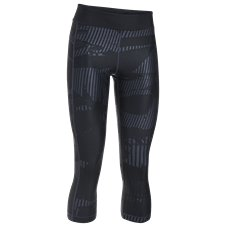 Under Armour HeatGear Armour Printed Graphic Cropped Leggings for Ladies