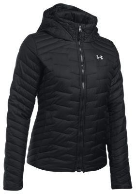 94443bc7 Under Armour ColdGear Hooded Jacket for Ladies Black XL
