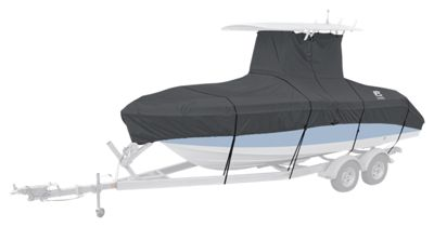 Classic Accessories StormPro T-Top Boat Cover - Charcoal - 102