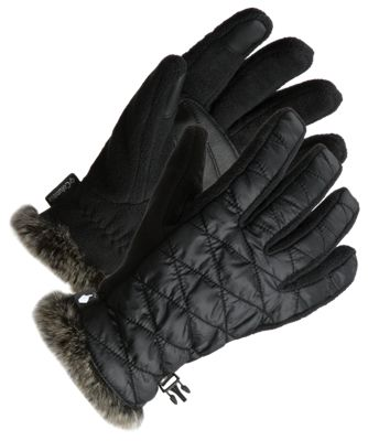 Columbia Heavenly Gloves for Ladies - Black - XL