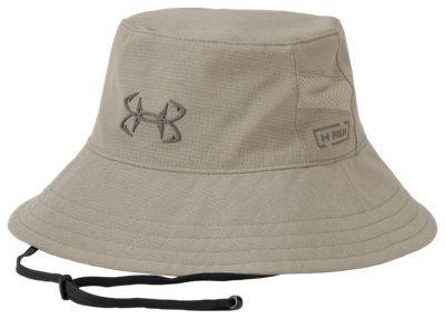 7fff5ae274440 Under Armour UA Fish CoolSwitch AmourVent Bucket Hat for Men City Khaki