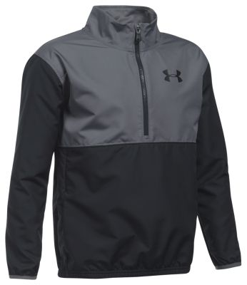 Under Armour Train to Game 1/4-Zip Jacket for Boys - Black/Graphite - L