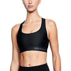 Under Armour Mid Crossback Sports Bra for Ladies