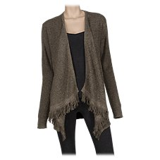 Bob Timberlake Fringe Waterfall Cardigan for Ladies