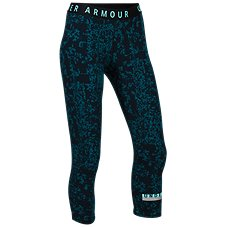 Under Armour Printed Favorite Cropped Pants for Ladies