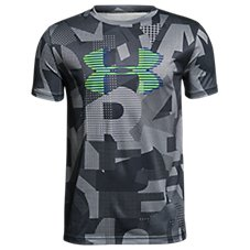 Under Armour HeatGear Graphic T-Shirt for Boys