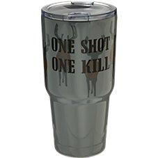 PURE Drinkware One Shot Stainless Steel Tumbler