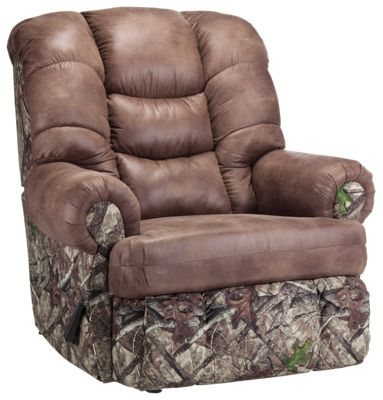 Lane Furniture ComfortKing TrueTimber Granddaddy Rocker Recliner