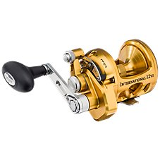 PENN International VI Gold Single-Speed Lever Drag Reel