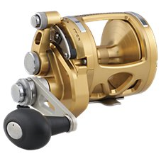PENN International VIS Gold Two-Speed Lever Drag Reel