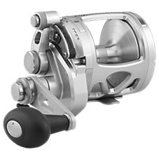 PENN International VIS Silver Two-Speed Lever Drag Reel