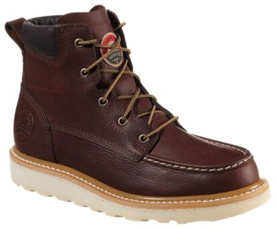 Irish Setter Ashby Work Boots for Men - Brown - 10.5W