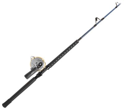 Shimano Tiagra/Offshore Angler Ocean Master Stand-Up Rod and Reel Combo - Model TI50WLRSA/OM680130C