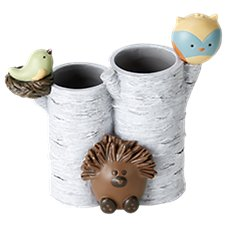Saturday Knight, Ltd. Forest Friends Collection Toothbrush Holder