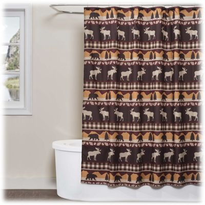 SKL Home Timberline Collection Shower Curtain