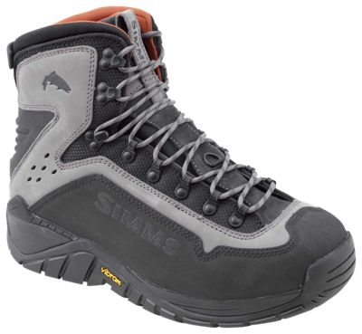 Simms G3 Guide Wading Boots for Men - Steel Grey - 9 EEE