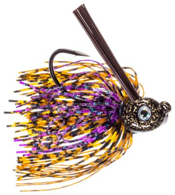 Buckeye Lures Russ Lane Pitch 'N' Skip Jig – Peanut Butter and Jelly – 5/8 oz.