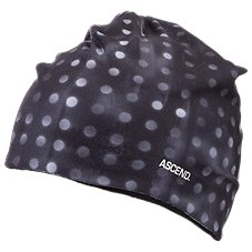 Ascend Printed Fleece-Lined Beanie for Ladies