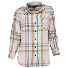 Natural Reflections Meadowlands Plaid Shirt for Ladies