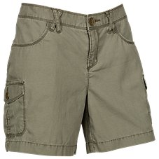Natural Reflections Canvas Cargo Shorts for Ladies Image