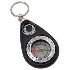 Munkees Thermometer Compass Key Ring