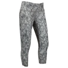 Ascend Printed Capris for Ladies