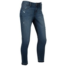 Natural Reflections Riverside Destructed Skinny Jeans for Ladies