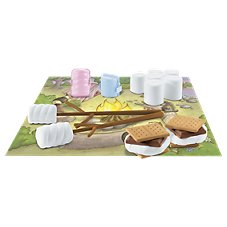 Floof S'more Party Reusable Modeling Clay with Accessories Set