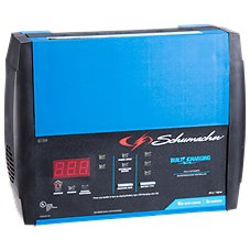 Schumacher 15A Rapid Charge 3A Maintain 6V/12V Fully Automatic Battery Charger Image