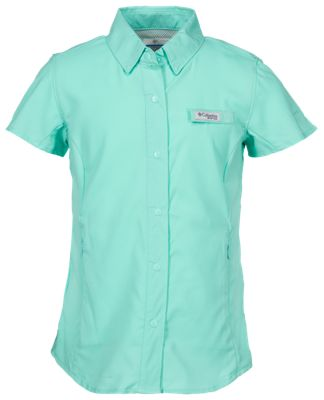 d8a255000b0 Columbia Tamiami Short Sleeve Shirt for Girls Pixie XXS