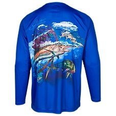 World Wide Sportsman Saltwater Printed Sailfish T-Shirt for Men