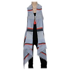 Quagga Sailor Stripe Vest for Ladies