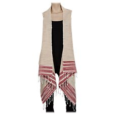 Bob Timberlake Textured Treasures Vest for Ladies