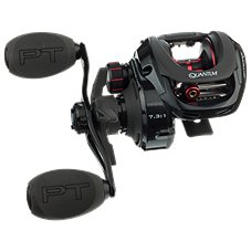 HAT QUANTUM SMOKE S3 SM100XPT 8.1:1 RIGHT HAND BAITCAST REEL